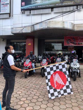 Ekspedisi Borneo: 4 Jurnalis Pontianak Jajal Ketanguhan ADV150