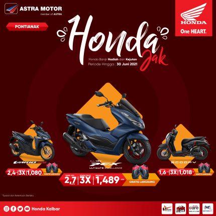 Ragam Promo Angsuran Bulan Juni Ala Honda Kalbar