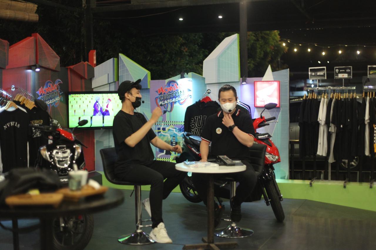 Gaulnya Generasi Eksis Bersama Honda di Bincang Online Honda Custom Playground